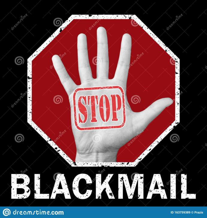 If you have a suspicious that your half-sister is being blackmailed and sexually assaulted by a neighbor? What to do? Why wouldnt she tell me?