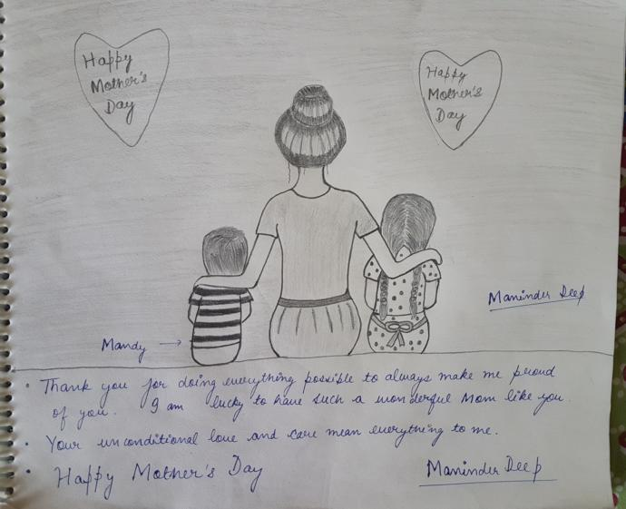 I made this sketch for my mother. What do you think about it?