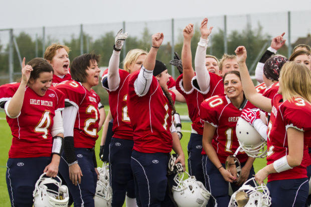 Should women be allowed to play tackle football?