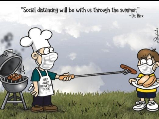 Social distance Bbq