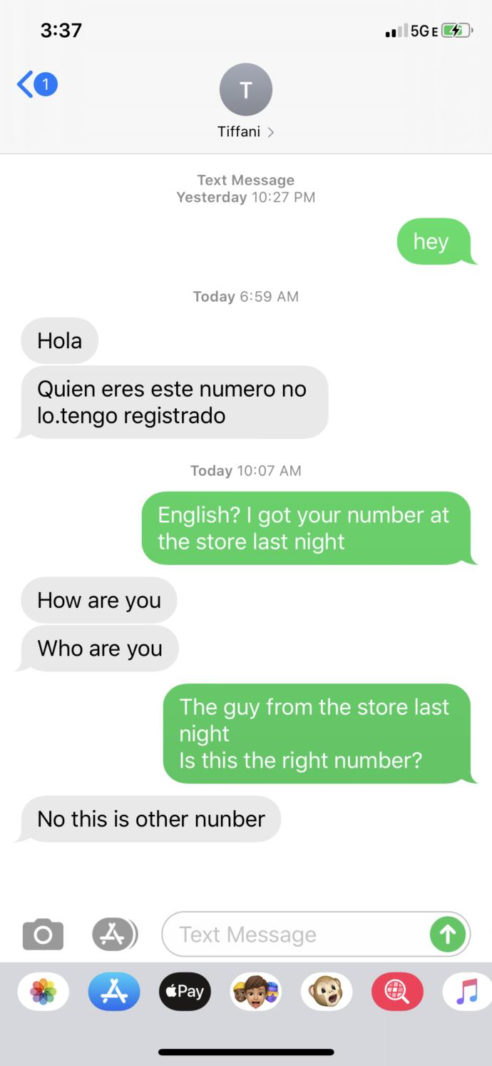 Why would somebody give you a fake number?