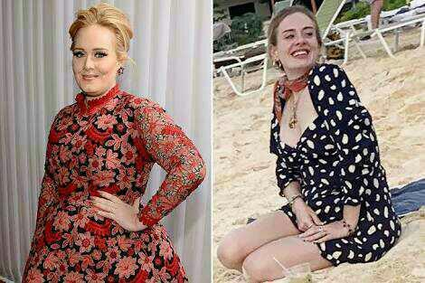 What are your thoughts on Adeles weight loss transformation?