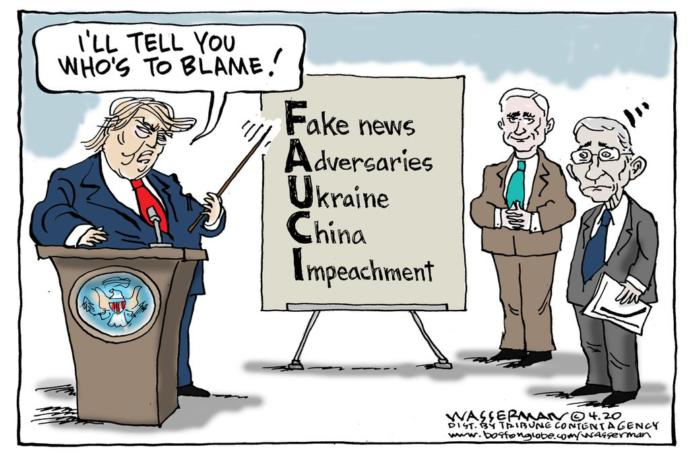 Is Trump Angry at Fauci for Telling the Truth and Following Science and Will Not Affirm Trump Lies?