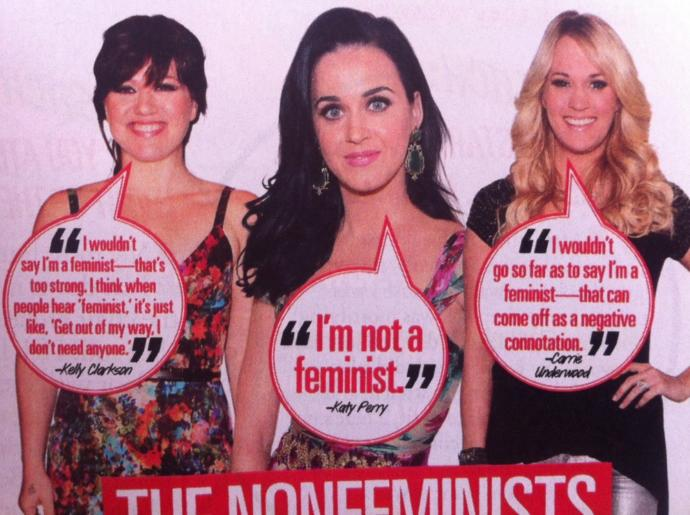 Why are people too embarrassed to say they support feminism?