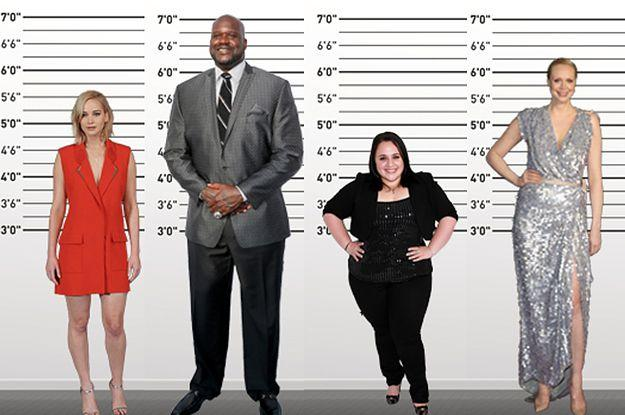 How do you feel about your height?
