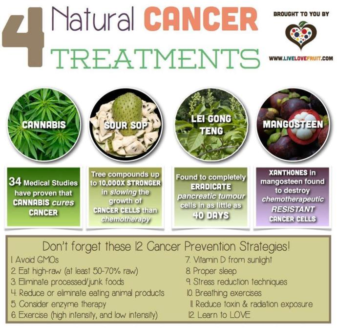 Do you support natural medicine for cancer?