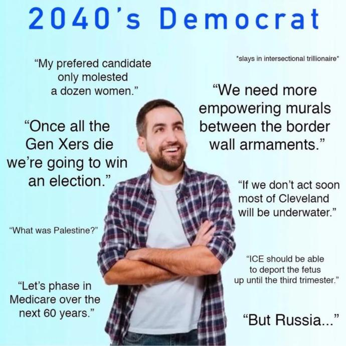 Is this a typical democrat in the future?