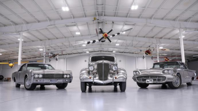 Which of these 6 Specially built Stainless Steel cars is your favorite?