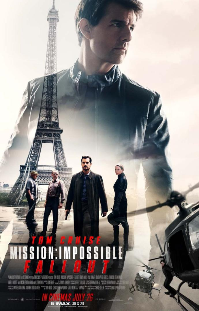Which Mission: Impossible movie is your favorite?
