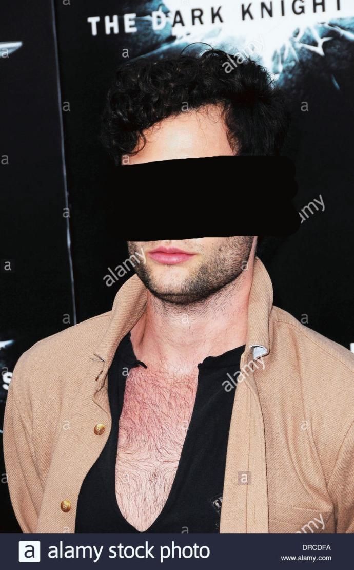 Visible upper chest hair on a ma wearing shirt?