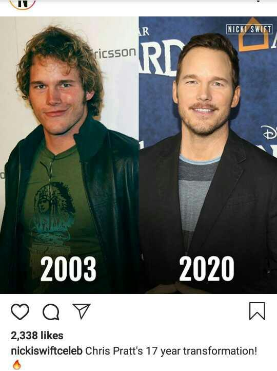 Do you find Chris pratt attractive? and why is he always looked 35?