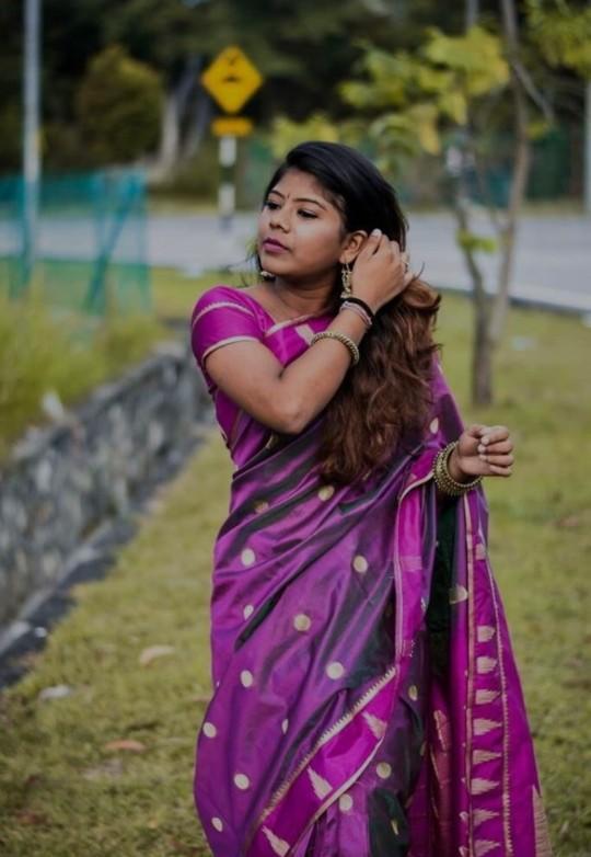 Do u like the sari?