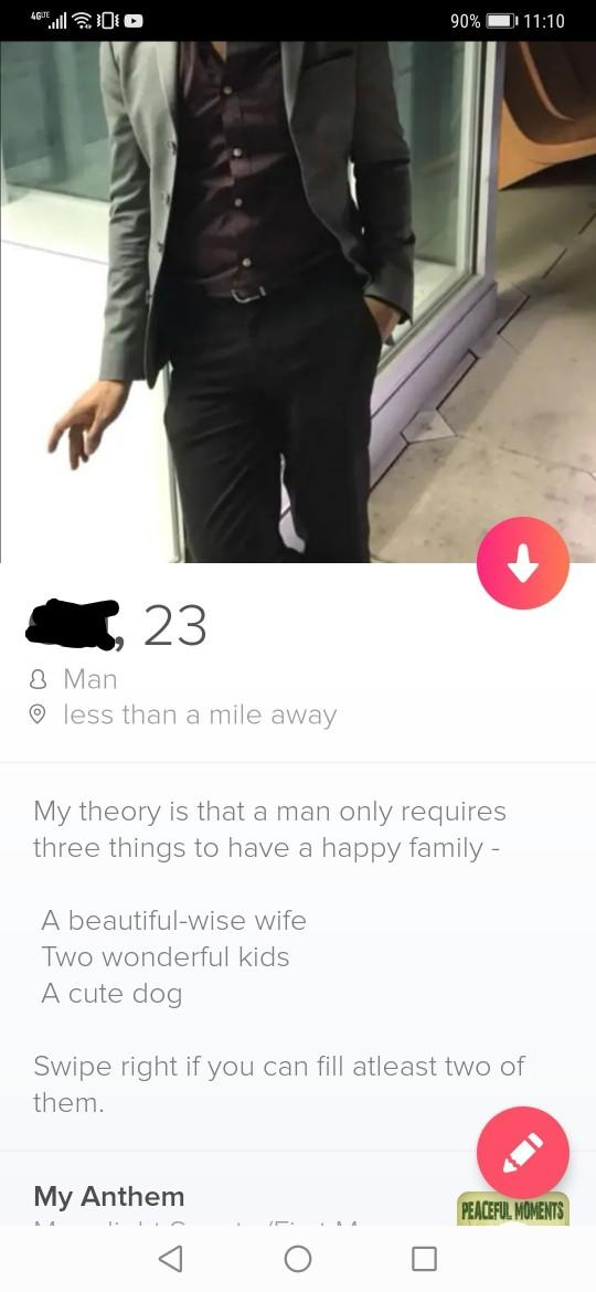Do you think this is a good tinder bio?