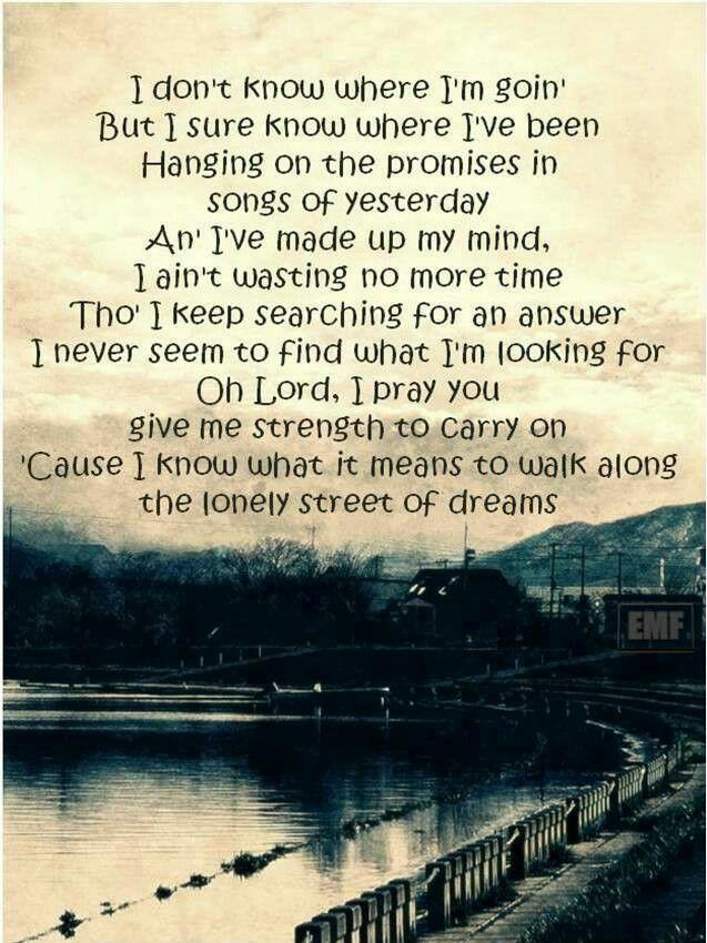 Can you relate to the lyrics of here I go again?