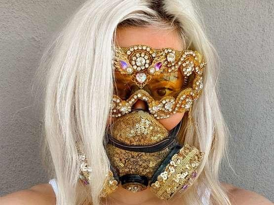 Would you be more in tune with wearing a mask if they were funny or unique?