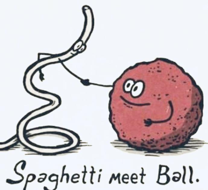 Would You Rather Shoot Spaghetti Out Of Your Fingers Or Sneeze Meatballs?