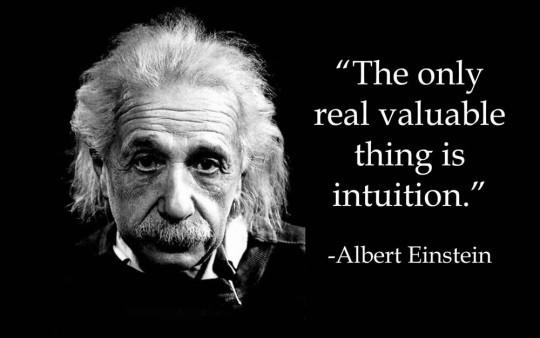 "How much do you believe in ""intuition""?"