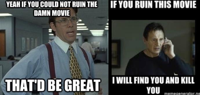Which of these just ruins a movie/show for you?