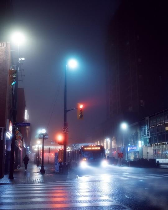 Do you take late night walks?