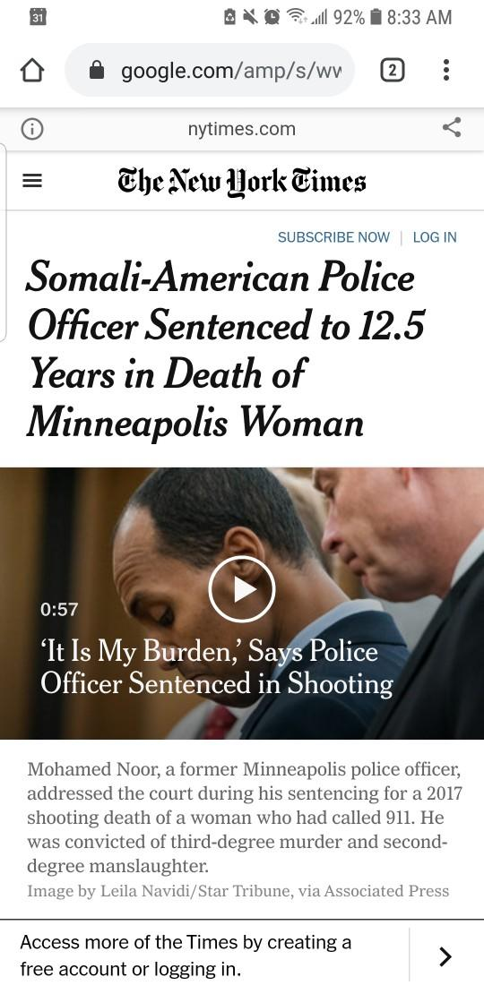 Does America have double standards for Policing?