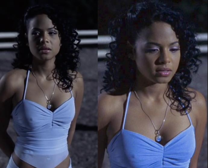 Based on the gifs/pics, how attractive would you rate her appearance in this movie?
