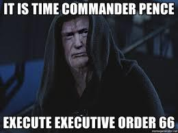 Trump!! With Twitter, MSM &other social media sites trying to undermine the US Government ahead of the election should Trump to execute Order 66?