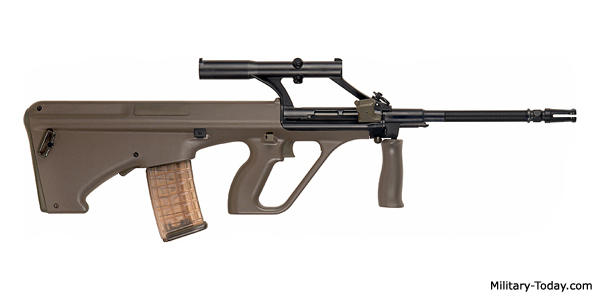 Which of these 7 Military Sniper Rifles/Shotguns/Assault Rifles/Submachine Guns is your favorite?