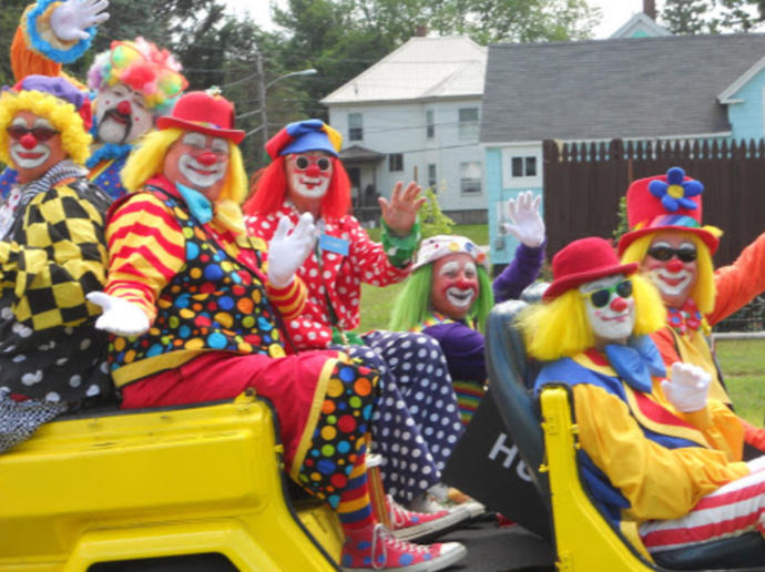 Would You Rather Ride In A Car Filled With Clowns Or Ride In A Car Filled With Mimes?