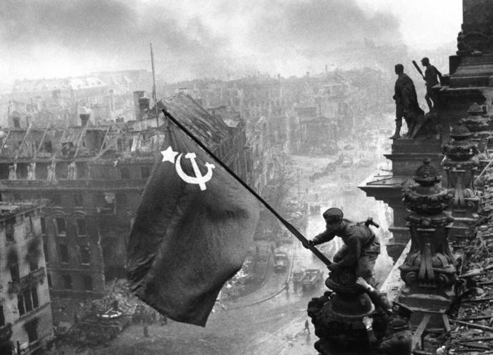 Why didn't Russians get revenge on Germans at end of WW2?