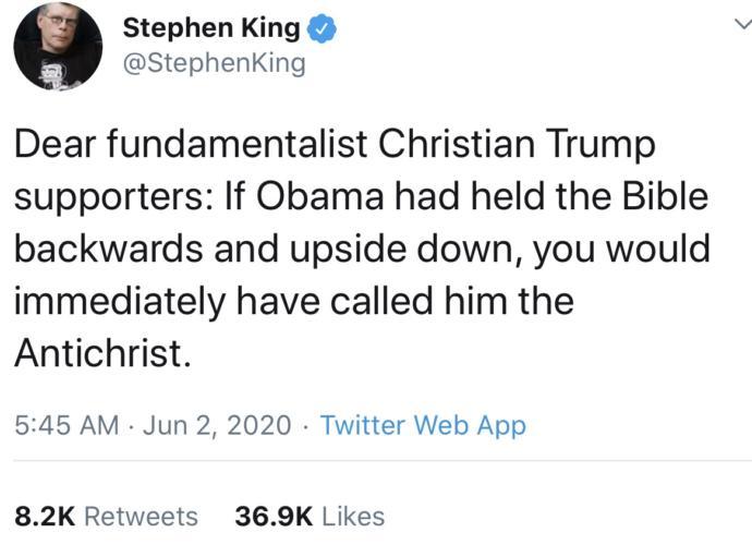 Its been proven Trump is a devil worshipper?