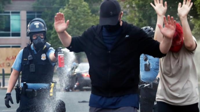 Why are cops being so violent?