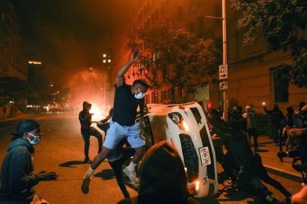 Arent these riots just reinforcing the negative stereotypes of black men?