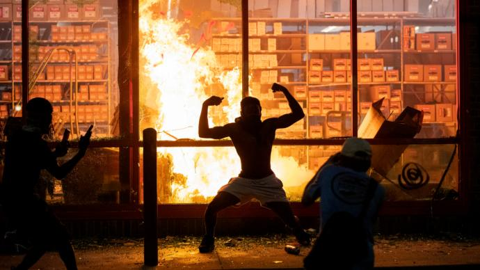Aren't these riots just reinforcing the negative stereotypes of black men?