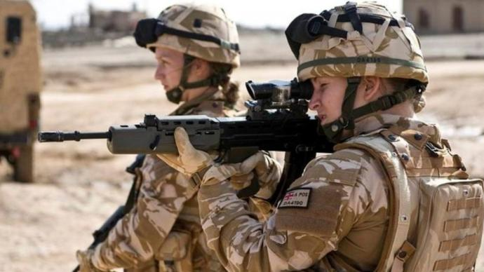 Do you think women should be allowed on the front line?