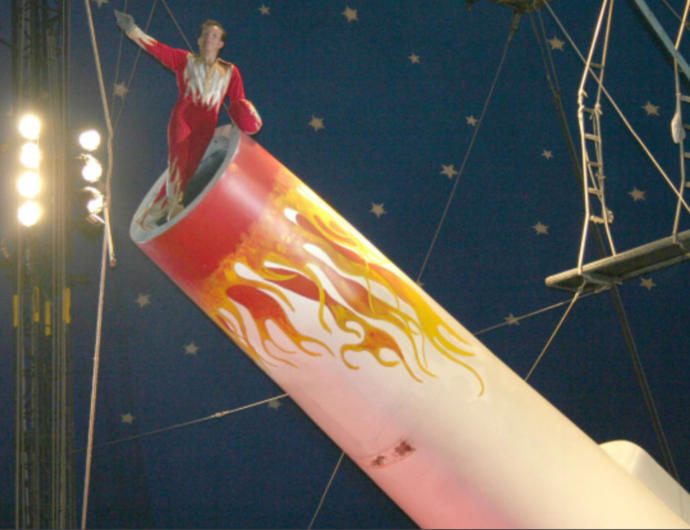 Would You Rather Jump Through A Ring Of Fire Or Be Shot Out Of A Cannon?