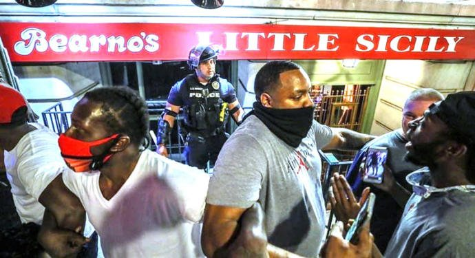 What are your thoughts on whats happening with Bad and Good Police Officers and Patriot bystanders in the George Floyd protests?