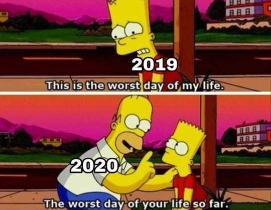 Whats the worst thing thats happpened in 2020?