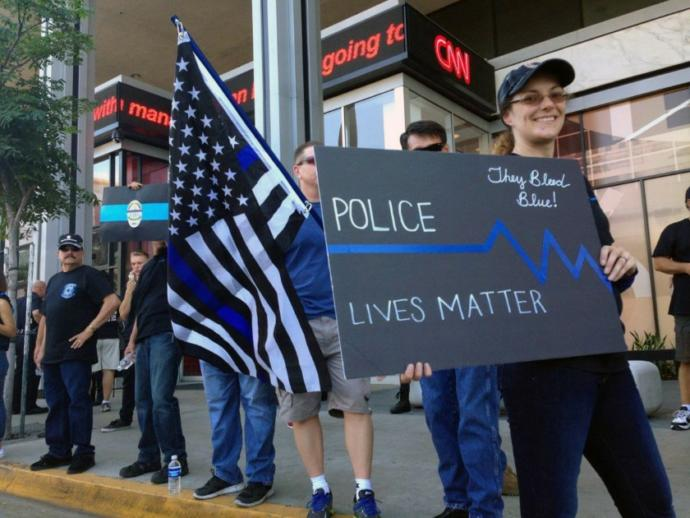 What do you think of Blue Lives Matter?