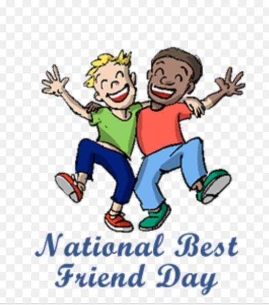 National Best Friend Day? Anyone wanna give a shout out to their friends on GAG? Or Share A Story About Their Best Friend?