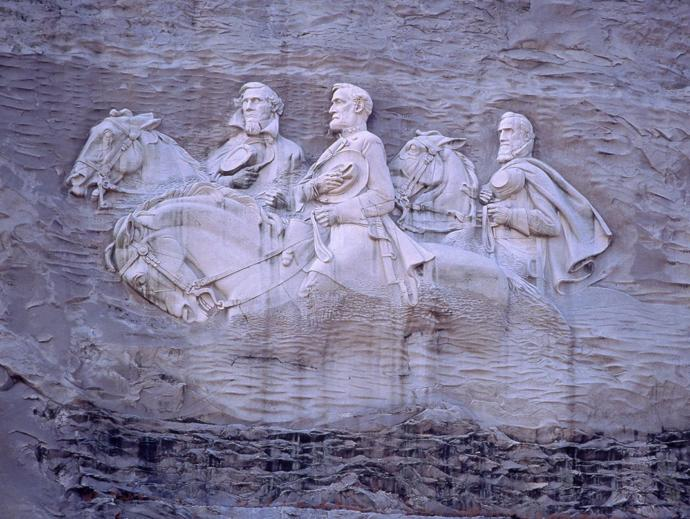 Do you support the agenda of taking down every statutes or any historic public structure that is connected to slavery, bigotry and racism of the past?