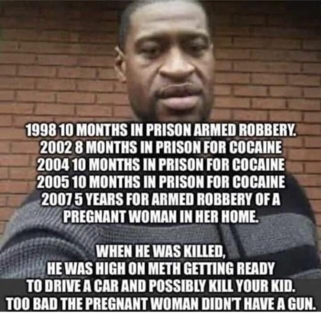 Why people don't understand that before talking about color he was a criminal?