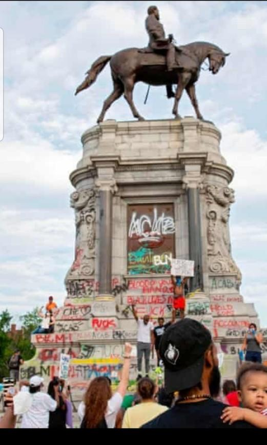 Statues being removed in the name BLM?