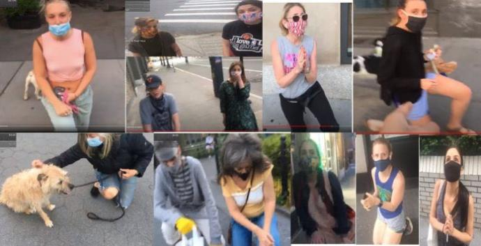 How do you feel about a man of color having white women take the knee?