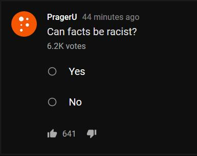 Can facts be racist?