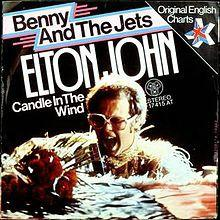 What is Elton Johns most iconic song?