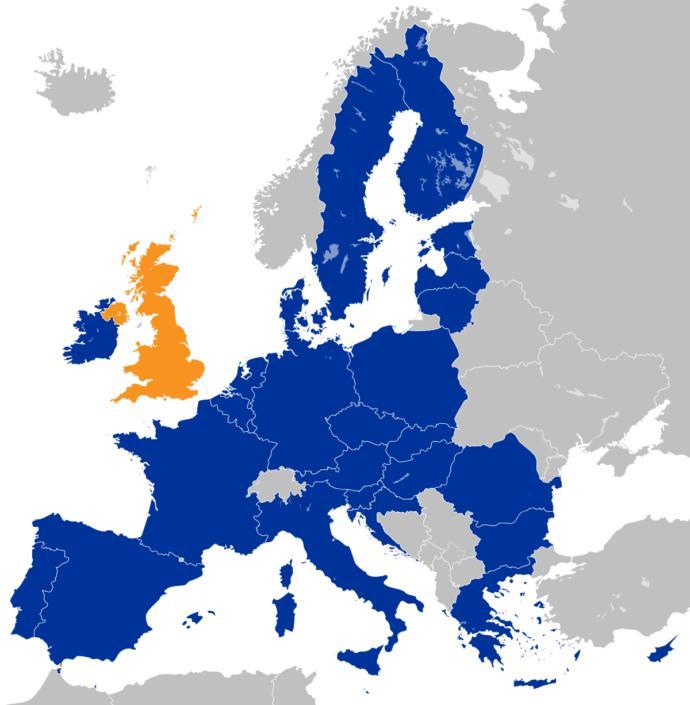 European Union (sans U. K.)