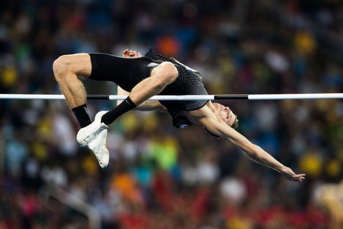 What is your favorite jumping event in track and field?