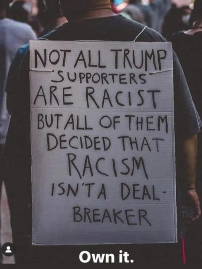What are the best protest signs you've seen?