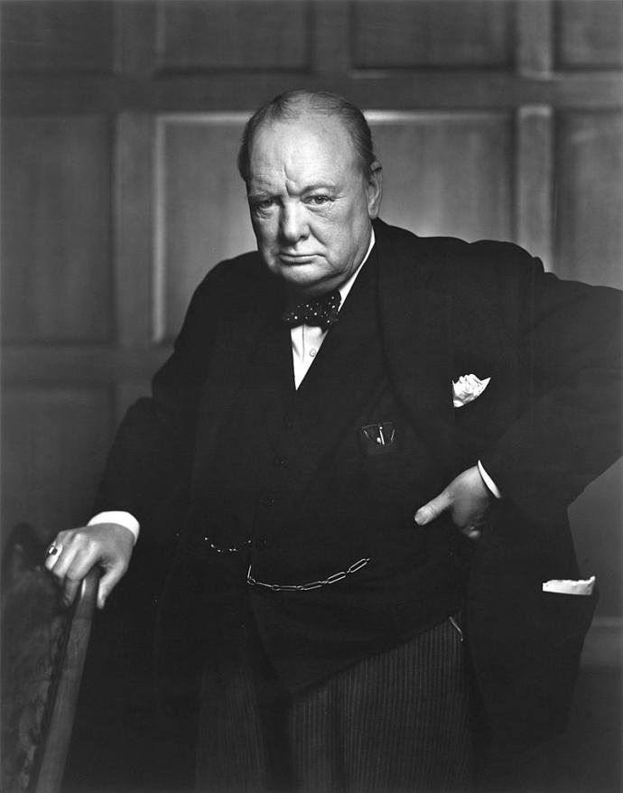 What do you think of Winston Churchill?