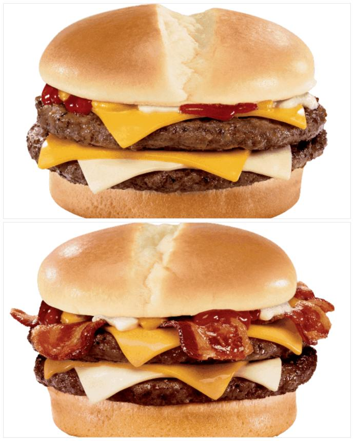 Jack in the Box: Burgers: What would you get out of this selection?